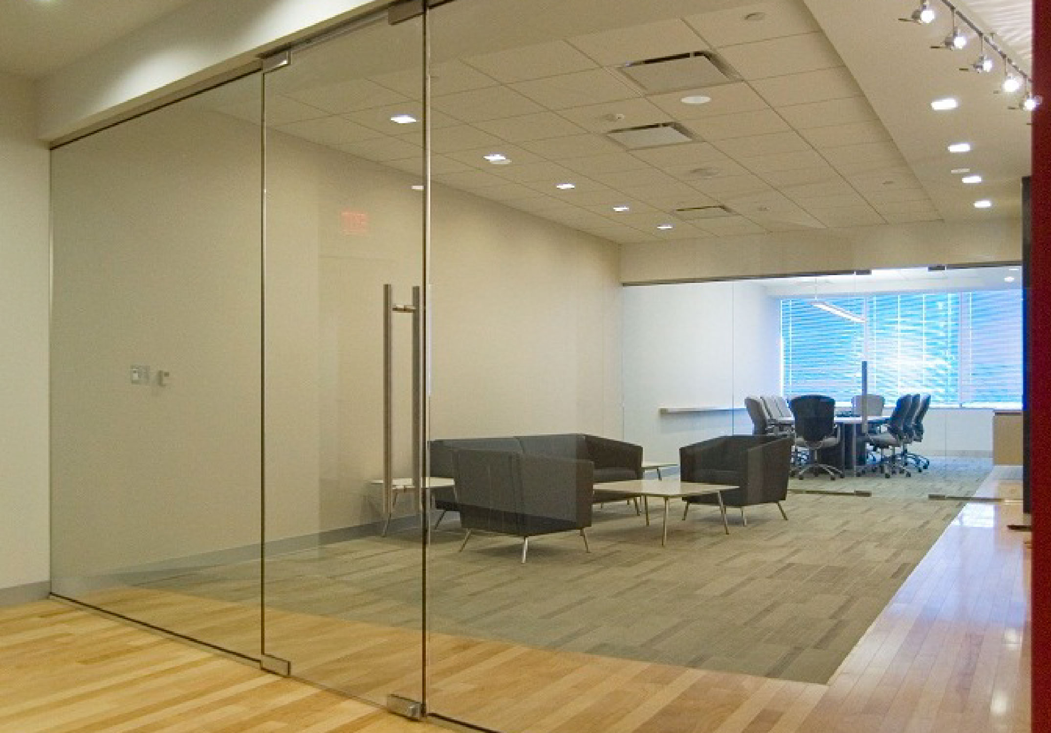 Frameless glass storefront door - Frameless Glass